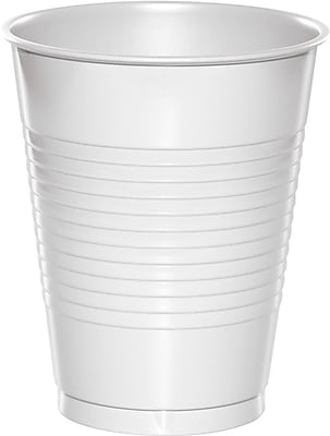 Creative Converting White Cups, 20/Pack