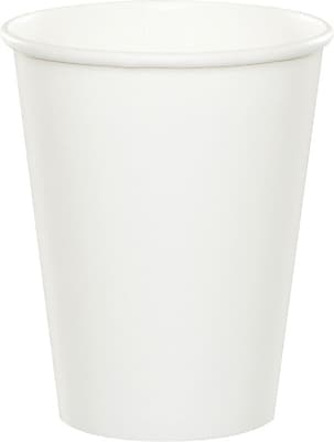 Creative Converting White Hot/Cold Drink Cups, 24/Pack 1006124