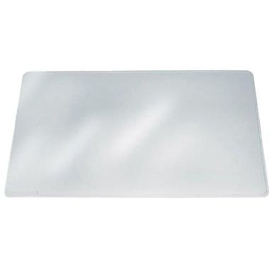 Lorell Matte Desk Pad, Crystal Clear