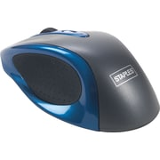 Staples® Wireless Optical Mouse, Blue
