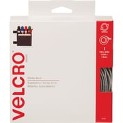 VELCRO® Brand Sticky Back™ Tape, White, 15 ft.