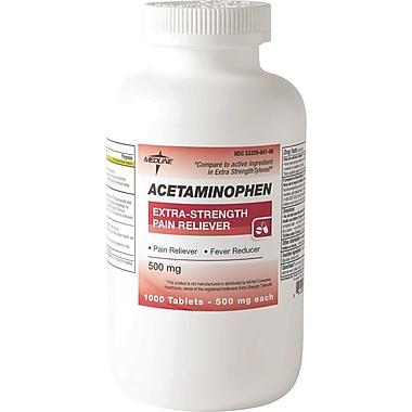 Medline Acetaminophen OTC20110 Extra Strength Tablets 1000 Tablets/Bottle