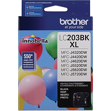 Brother Ink Cartridge High-Yield, Black (LC203BKS)