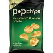 Popchips™, Sour Cream & Onion, 3.5 oz., 12 Bags/Box