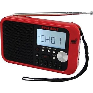 First Alert Digital Tuning AM/FM Weather Band Radio