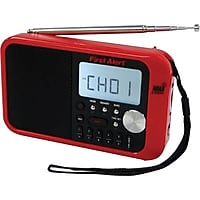 First Alert FA-1100 Digital Tuning AM/FM Weather Band Radio