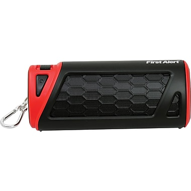First Alert Portable Outdoor Bluetooth Speaker