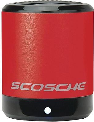 Scosche BoomCan Portable Speaker, Red