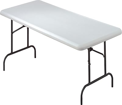 IndestrucTable TOO Folding Table,600 Series - Platinum - 30 x 60