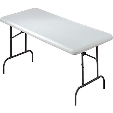 IndestrucTable TOO Folding Table,600 Series - Platinum - 30