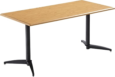 ICEBERG OfficeWorks 60'' Rectangular Conference Table, Oak (ICE65029)