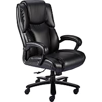Deals on Staples Glenvar Bonded Leather Big and Tall Chair