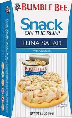 Bumble Bee® Tuna Salad with Crackers, 3.5 oz. Packs, 12 Packs/Box