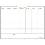 AT-A-GLANCE® – Planificateur mensuel WallMates™ auto-adhésif à effacement sec, sans dates, 18 po x 24 po, bilingue