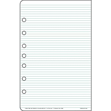 Day-Timer® Multi-Purpose Lined Pad Paper, 24- Sheet Pads, 2/Pack