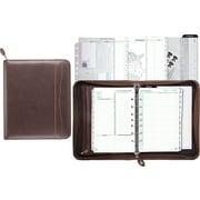 leather address book