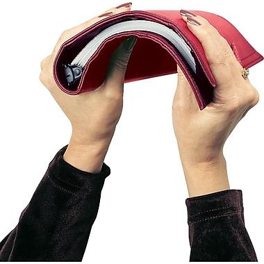 Day-Timer® – Trousse de départ en vinyle souple, sans dates, rouge