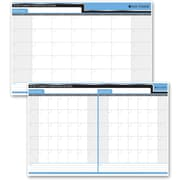 Day-Timer – Planificateur souple réversible 30/60 jours, 24 po x 36 po