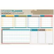 Day-Timer® – Planificateur scolaire réversible, 24 po x 36 po