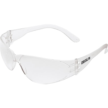 MCR Safety® Checklite® Crew ANSI Z87 Safety Glasses, Clear