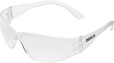 MCR Safety® Checklite® Crew ANSI Z87 Safety Glasses, Clear