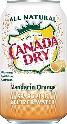 Canada Dry Mandarin Orange Sparkling Water 12oz 24/Ct.