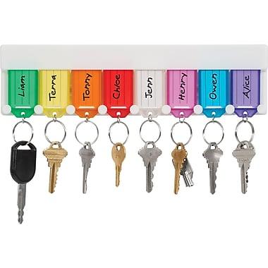 Merangue 8 Key Tag Rack