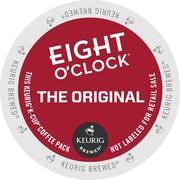 Eight O'Clock® Original Coffee, Keurig® K-Cup® Pods, Medium Roast, 96/Carton (64053)