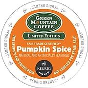 Green Mountain Pumpkin Spice Coffee, Keurig® K-Cup® Pods, Light Roast, 24/Box (6758)