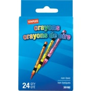 Staples® 24 Pack Crayons