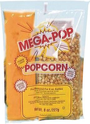 S&S Mega Pop Popcorn & Oil Kit,