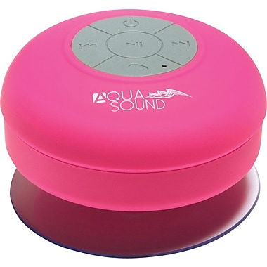 Aduro AQUA-Sound Shower Bluetooth Speaker - Pink