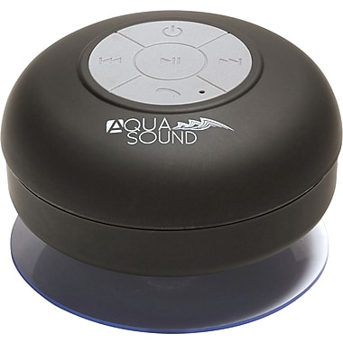 Aduro AQUA-Sound Shower Bluetooth Speaker - Black