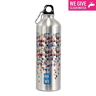 We to We Water Bottle, Assorted Colors