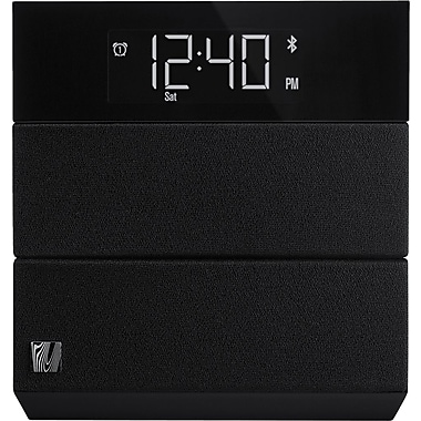 Soundfreaq Sound Rise Bluetooth bedroom Speaker with Alarm Clock, Black
