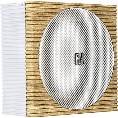 Soundfreaq Sound Spot Bluetooth Speaker, Wood and White