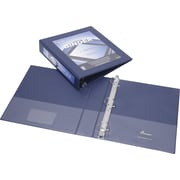 """SKILCRAFT Frame View Binders, Navy Blue, 1-1/2"""", Letter, Navy Blue"""