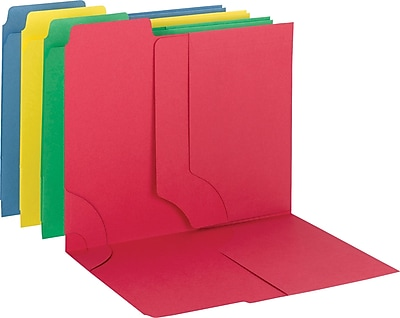 Smead 3-in-1 SuperTab Section Folder, Letter, , 8.50