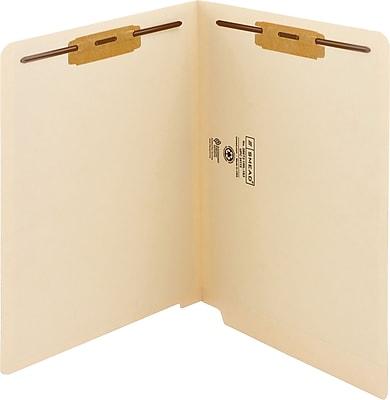Smead WaterShed/CutLess End Tab Fastener Folders, Letter, 8.5
