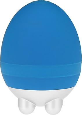 PCH Ergonomic Mini Handheld Egg Massager, Blue
