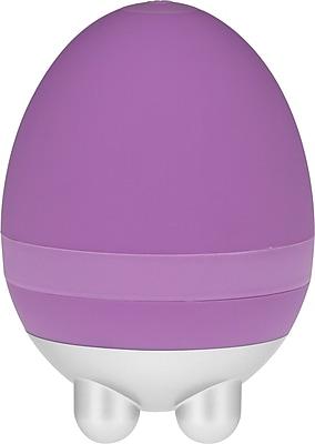 PCH Ergonomic Mini Handheld Egg Massager, Purple