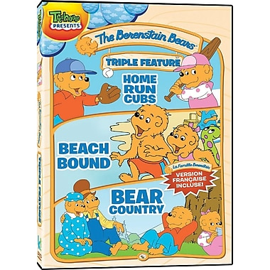 Berenstain Bears: Triple Feature (DVD) - 3 films