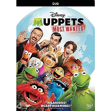 Muppets: Most Wanted (DVD)