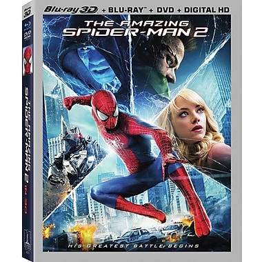 The Amazing Spider-Man 2 (3D Blu-ray/Blu-ray/DVD)