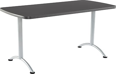 ICEBERG ARC 60'' Rectangular Conference Table, Graphite (69217)