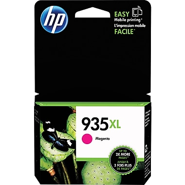 HP 935XL Magenta Ink Cartridge (C2P25AN#140), High Yield