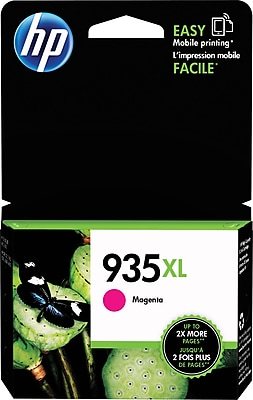 HP 935XL Magenta Ink Cartridge (C2P25AN#140), High Yield