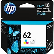 HP 62 Tri-Color Standard Yield Ink Cartridge (C2P06AN#140)