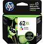 HP 62XL Tricolor Ink Cartridge (C2P07AN#140), High Yield