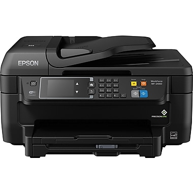 Epson WorkForce WF-2660 Color Inkjet All-in-One Printer, C11CE33201, New